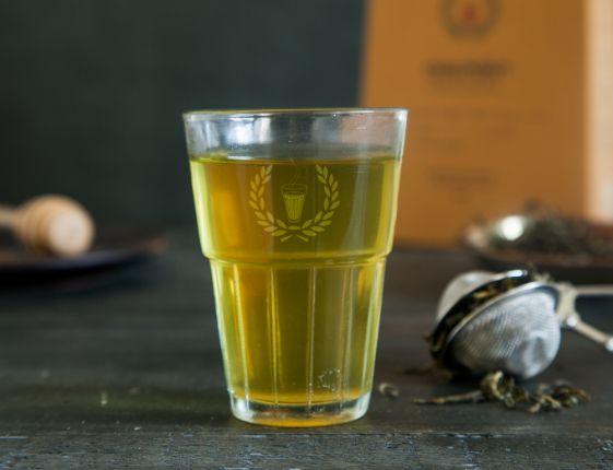 Hot Green Chai Mini Flask ( Serves 4-5) image