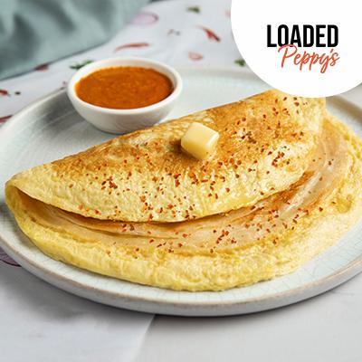 Anda Peppy Paratha In Wheat Flour (Atta) image