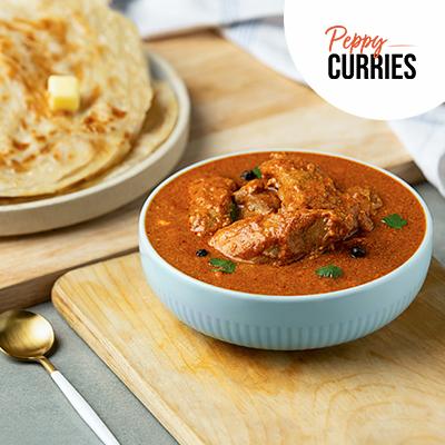 Darbari Chicken & Peppy Paratha In Wheat Flour (Atta) image