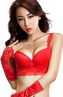 1151RD SEXY RED PUSH UP BRA