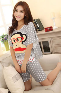 PAUL FRANK SHORT SLEEVE CARTOON PYJAMAS