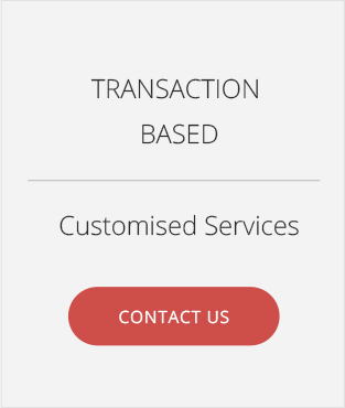 transaction based services