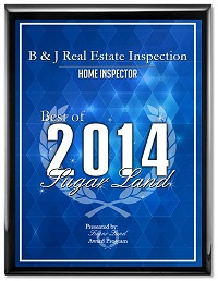 Home Inspection Sugar Land