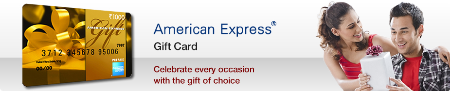 American Express Gift Card ® Celebrate every occasion with the gift of choice