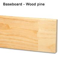 BASEBOARD WOOD PINE
