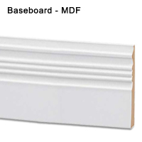 Baseboard MDF