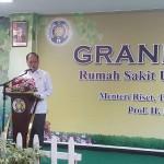 Menristekdikti Prof H Mohamad Nasir