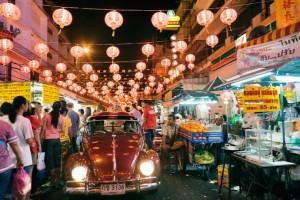 Suasana Kota Bangkok jelang Imlek (Foto : treaelingyuk.com)
