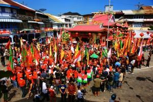 Perayaan Cap Go Meh di Singkawang (Foto : jepretter.wordpress.com)