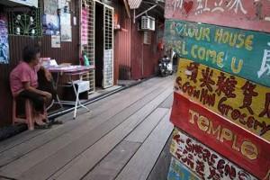 Suasana unik di Chinatown George Town, Penang. (Foto : detiktravel.com)