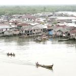 Kawasan Kampung Nelayan Belawan. (Foto : analisadaily.com)