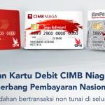 Kartu Debit GPN CIMB Niaga