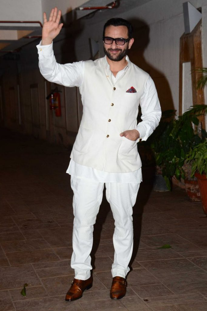 Celebrity Style Actor Saif Ali Khan In A Nehru Jacket The Ethnic Soul See more ideas about saif ali khan, khan, bollywood. craftsvilla