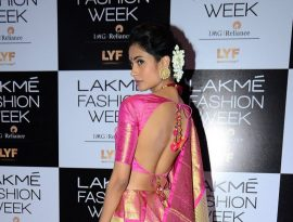 Bollywood and TV celebrities at Lakme Fashion Week