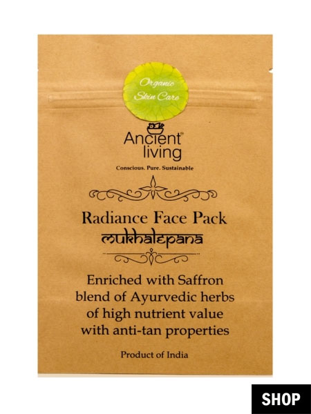 ancient living face pack