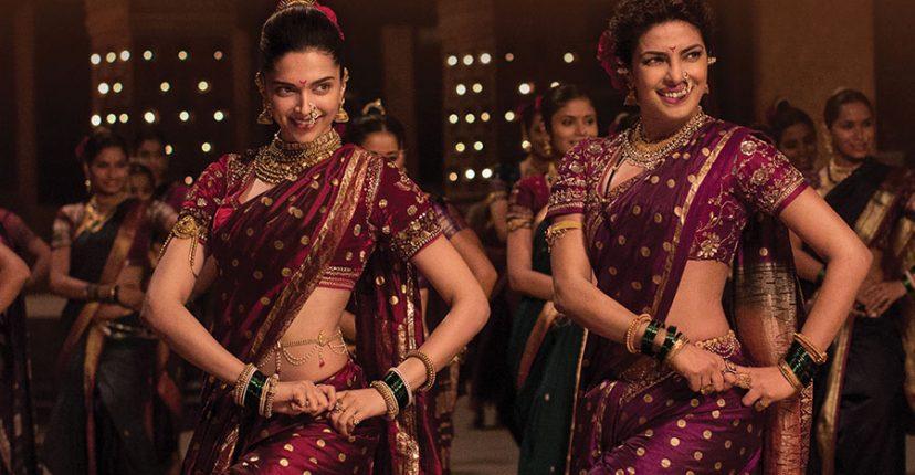 Deepika and Priyanka in Nauvari sarees