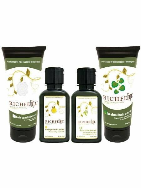 organic anti dandruff kit