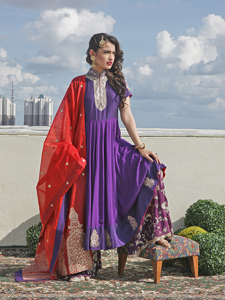 A-line suits for Navratri