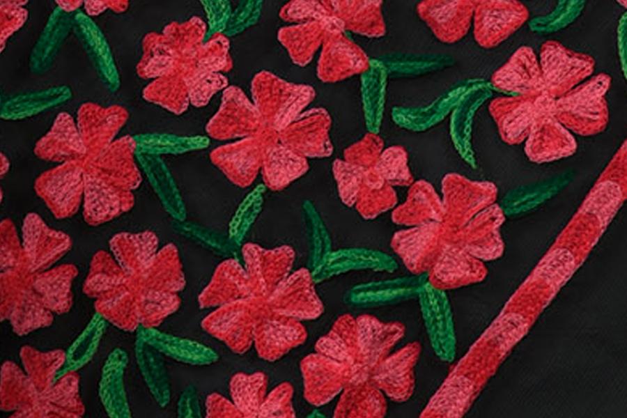 Famous Indian Embroidery Styles Chikankari Zardosi