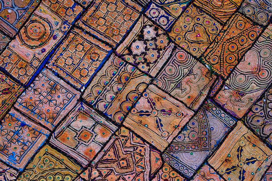 Rajasthani patchwork