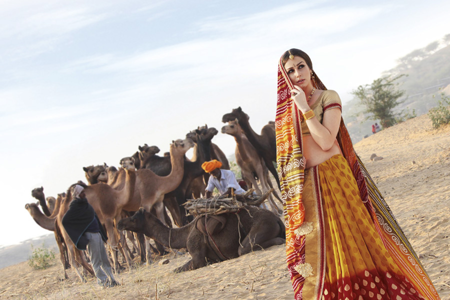 Gujarat's Bandhani Sarees