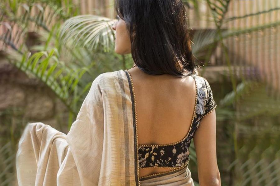 Indian saree blouse