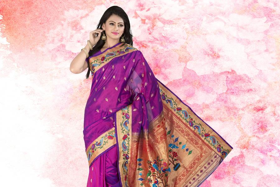 Paithani handloom saree