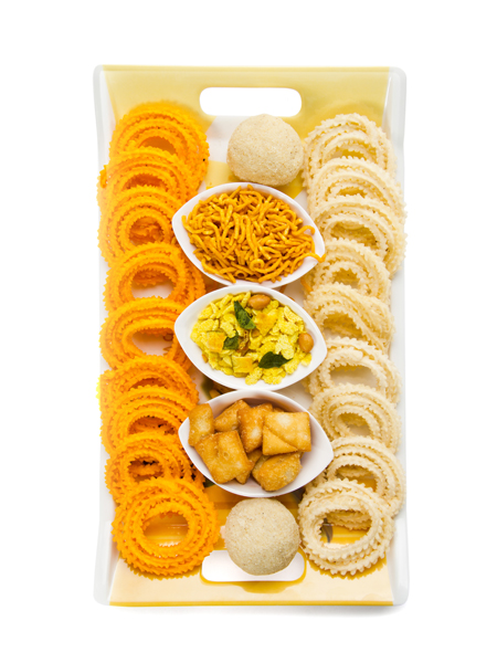 Indian Diwali snacks