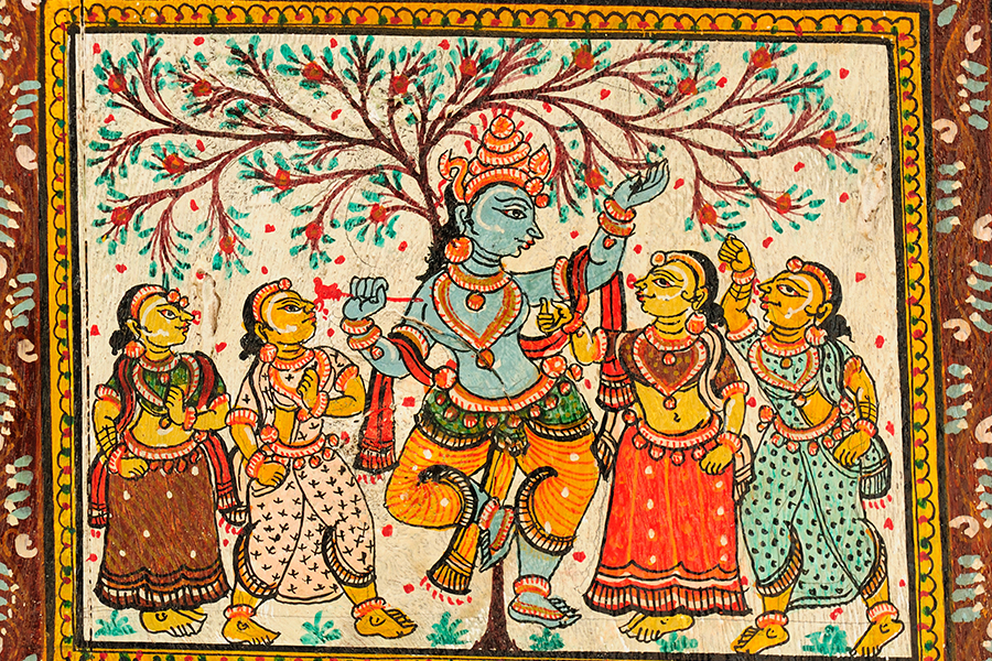 Traditional Pattachitra painting