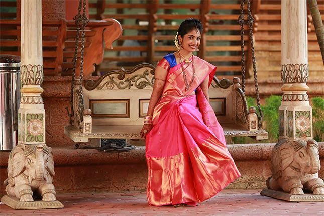 Think, Kerala girls saree what