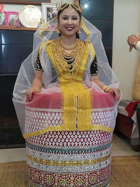 Manipuri Wedding Dress