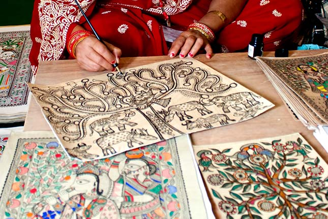 History Of Folk Art Painting
