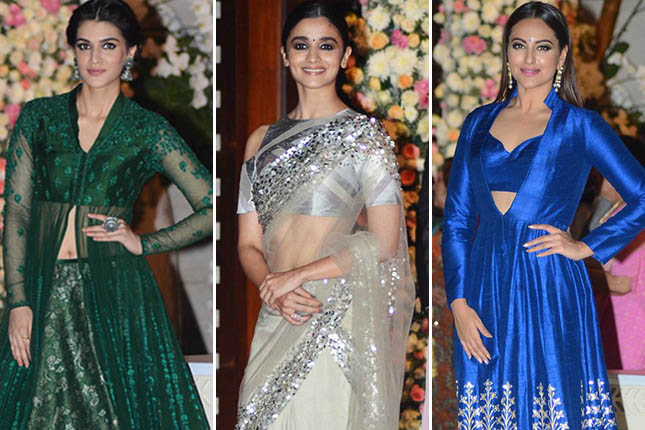 Best celebrity ethnic looks from the Ambani bash