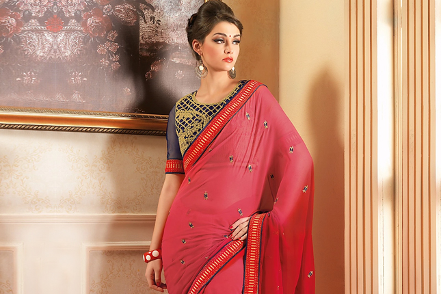 Saree fabrics of every body type
