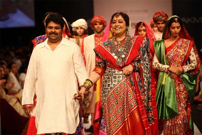 Patola sarees by designer Gaurang Shah