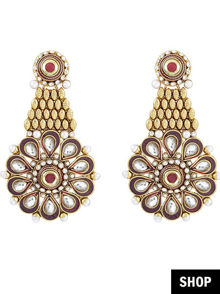 12 Types Of Indian Earrings Every Woman Needs To Stock Up ...
