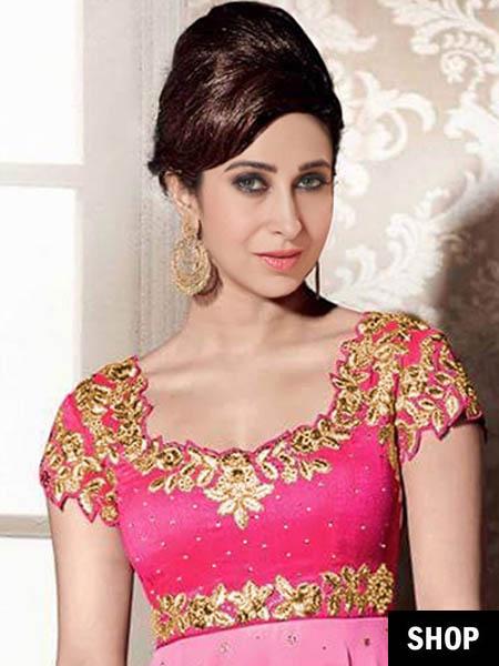 Karishma Kapoor sweetheart neck