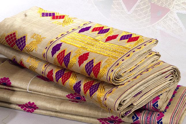 muga silk motifs