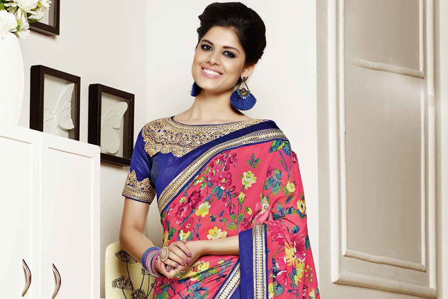 Sarees for thin women