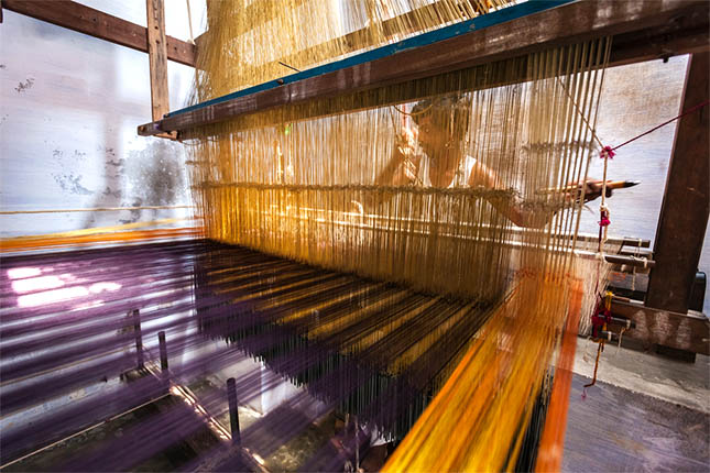 Kanchipuram silk sarees weaving