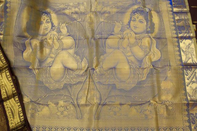 Kanchipuram silk sarees motifs