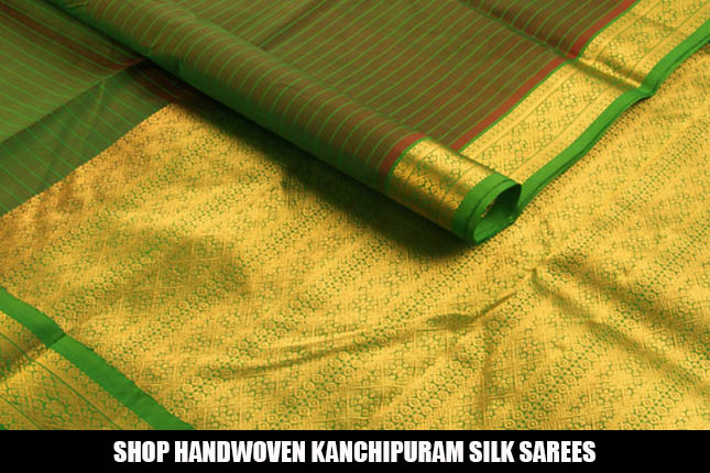Shop Kanchipuram silk sarees