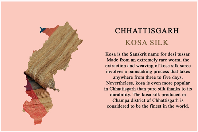 kosa silk from Chhattisgarh