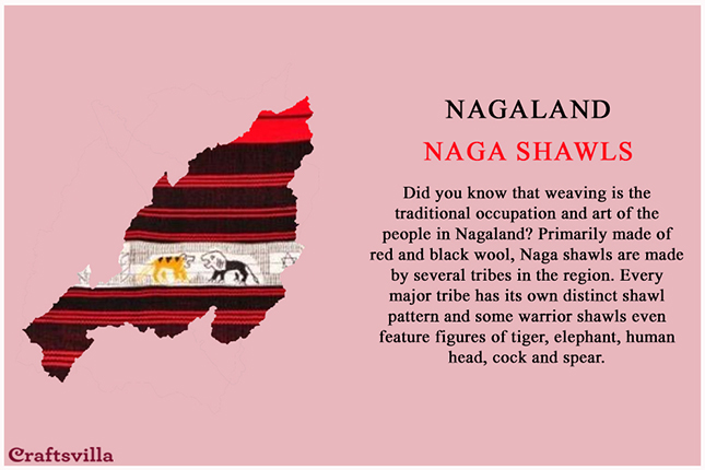 Naga shawls from Nagaland