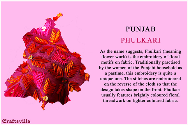 Phulkari from Punjab
