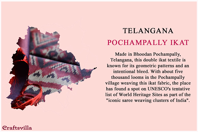 pochampally ikat from Telangana2