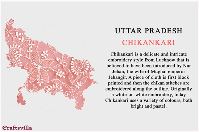 chikankari from Uttar Pradesh