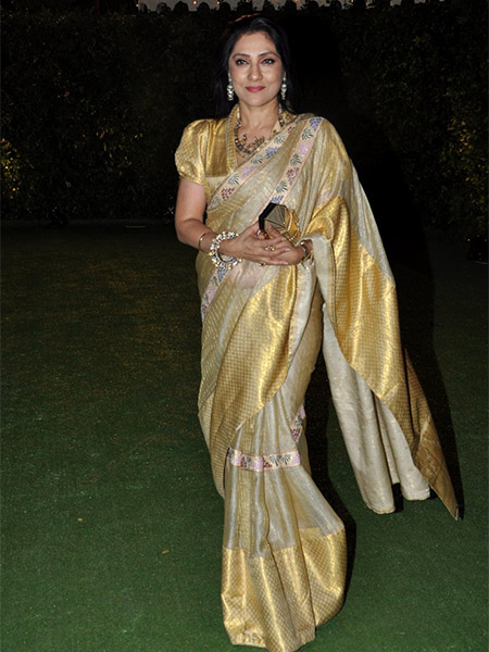 Aarti Surendranath at Trishya Screwvala's wedding