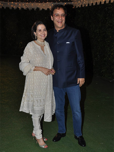 Anupama Vidhu Vinod Chopra at Trishya Screwvala's wedding