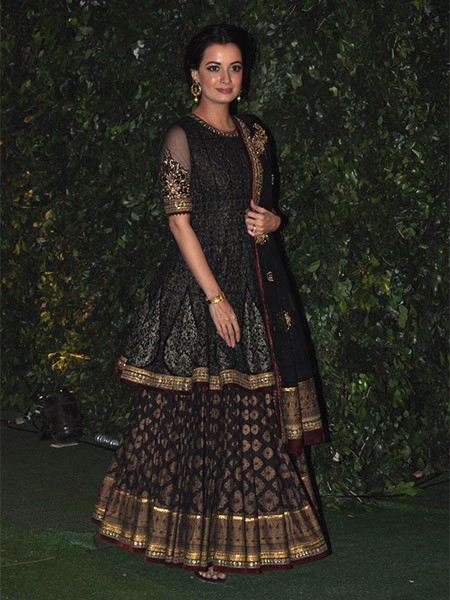 Dia Mirza at Trishya Screwvala's wedding